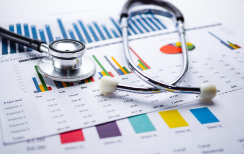 Stethoscope,,Charts,And,Graphs,Spreadsheet,Paper,,Finance,,Account,,Statistics,,Investment,